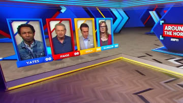 """Clinton Yates, Woody Paige, Frank Isole and Jackie MacMullan on """"Around the Horn"""""""
