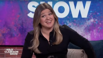 Kelly Clarkson launching into her darkest material.