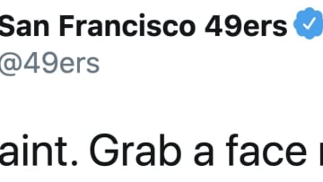 The San Francisco 49ers mercilessly trolled the New Orleans Saints