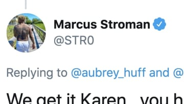 Marcus Stroman savaged Aubrey Huff on Twitter