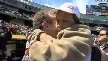 Dallas Braden vivió uno de los momentos más emotivos de la historia