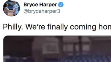 Philadelphia's star outfielder Bryce Harper expressed his excitement about the MLB's return via Twitter on Tuesday night.