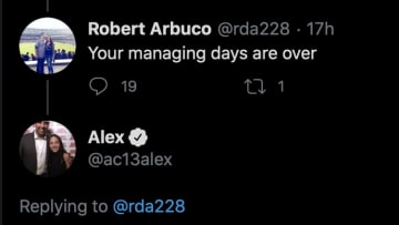 Former Red Sox manager Alex Cora tweets a surprising thought about his future