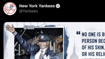 "The New York Yankees tweeted a quote from Nelson Mandela in lieu of an official statement on ""Blackout Tuesday."""