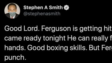 ESPN's Stephen A. Smith is not so popular among UFC fans. Calling Justin Gaethje the absolute wrong name won't change that one bit.