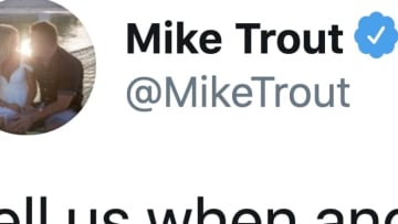 Mike Trout finally went after the owners and Rob Manfred.