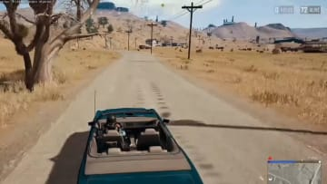 PUBG player experiences bump in the road