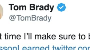 Tampa Bay Bucs QB Tom Brady's Twitter Account