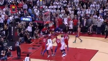 Kawhi Leonard's epic Game 7 shot to help the Raptors defeat the 76ers.