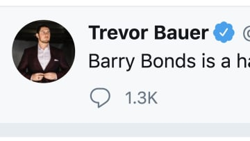 Trevor Bauer wants Barry Bonds in the Hall of Fame
