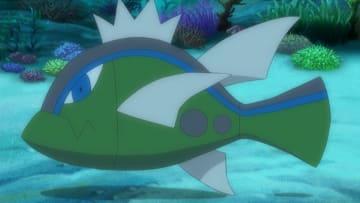 Basculin in the Pokémon anime.