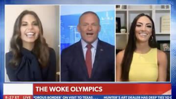 Newsmax takes on the Wokyo Olympics.