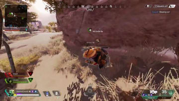 Apex Legends player ran into a seemingly long forgotten revive bug as the prompt didn't pop up for the player to revive their downed teammate.
