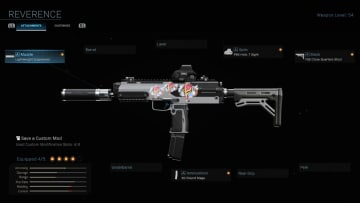 The Reverence Blueprint is an MP7 Blueprint you can get in Warzone.
