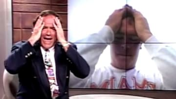 Chris Berman and Dan Marino in 'Only Wanna Be With You.'