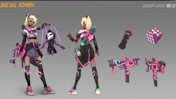 This fan made Sombra skin would make an excellent addition to her ingame options.
