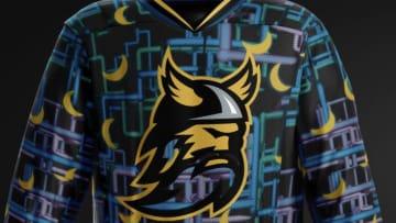 Dan Flashes plays hockey.