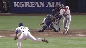 21 years ago, Fernando Tatis hit two grand slams in one inning against the Dodgers.