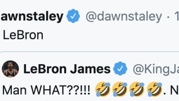 Dawn Staley was not pleased with what LeBron James thought of her team