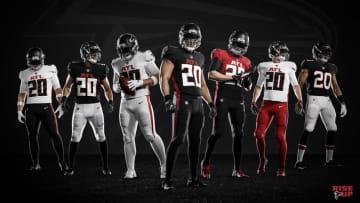 Los Falcons presentaron nuevos uniformes