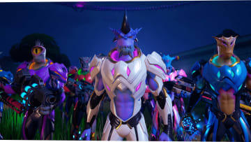 """One of the foreshadowing quests leading from Fortnite Chapter 2: Season 6 into Season 7 tasks players with destroying """"spooky TV sets."""""""