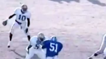Allen Iverson playing football at Bethel High School