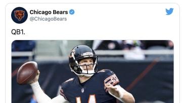 Chicago Bears, QB1. Sorry.
