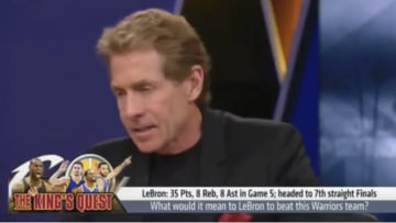 """Skip Bayless on FS1's """"Undisputed"""" in 2017"""