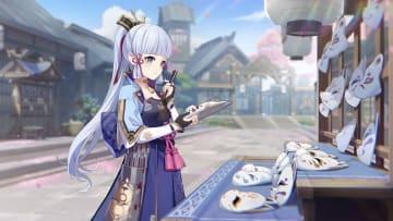 You'll need Sakura Blooms to ascend Ayaka.