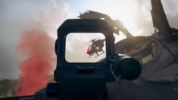 The new Warzone trailer suggests the Attack Helicopter could make a return.