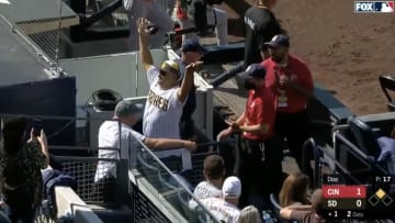 Padres Fan Ejected in First Inning