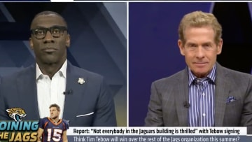 Skip Bayless and Shannon Sharpe