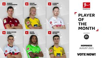 Seis jogadores da Bundesliga foram nomeados