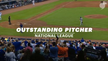 deGrom NL Outstanding Pitcher