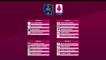 eSerie A TIM | FIFA 21 - I gironi della Regular Season