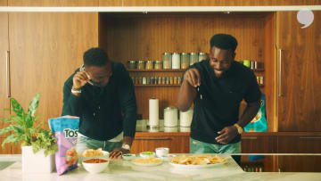 Homegating | Kam Chancellor and Cliff Avril