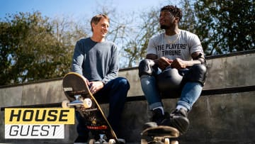 Houseguest with Nate Robinson and Tony Hawk