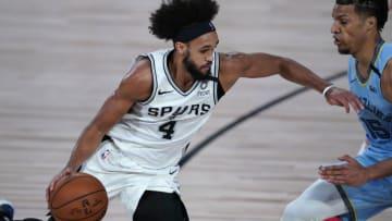 San Antonio Spurs Derrick White (Photo by Ashley Landis-Pool/Getty Images)