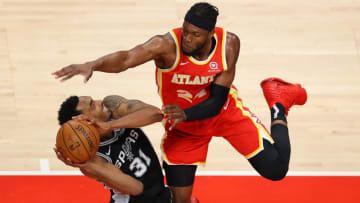 San Antonio Spurs Keita Bates-Diop (Photo by Kevin C. Cox/Getty Images)