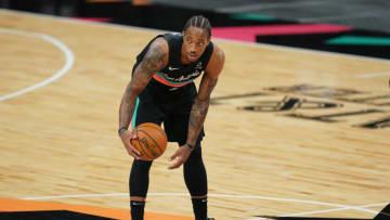 San Antonio Spurs DeMar DeRozan Mandatory Credit: Daniel Dunn-USA TODAY Sports