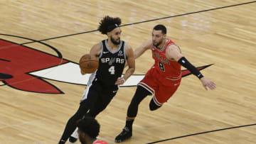 San Antonio Spurs Derrick White David Banks-USA TODAY Sports