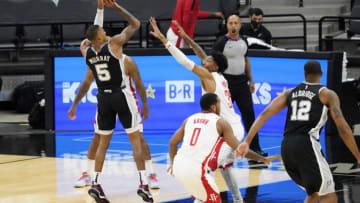 San Antonio Spurs Dejounte Murray Mandatory Credit: Scott Wachter-USA TODAY Sports