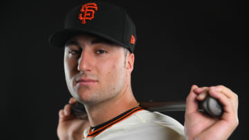 Joey Bart spent an extended portion of 2019 in the California League where Jen Ramos got to see the SF Giants prospect up close. (Photo by Jamie Schwaberow/Getty Images)