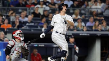 Giants target Greg Bird. (Photo by Abbie Parr/Getty Images)