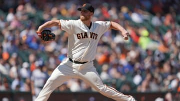 SAN FRANCISCO, CA - JUNE 09: Will Smith #13 of the San Francisco Giants pitches against the Los Angeles Dodgers in the top of the ninth inning of a Major League Baseball game at Oracle Park on June 9, 2019 in San Francisco, California. (Photo by Thearon W. Henderson/Getty Images)