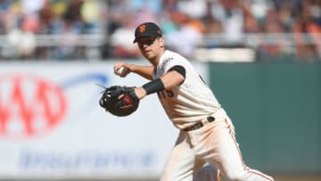 SF Giants star Buster Posey. (Photo by Thearon W. Henderson/Getty Images)