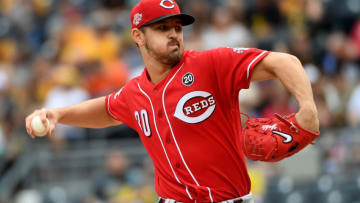 PITTSBURGH, PA - SEPTEMBER 29: Tyler Mahle #30 of the Cincinnati Reds delivers a pitch in the first inning. (Photo by Justin Berl/Getty Images)