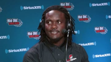 MINNEAPOLIS, MN - FEBRUARY 02: Melvin Ingram of the Los Angeles Chargers attends SiriusXM at Super Bowl LII Radio Row at the Mall of America on February 2, 2018 in Bloomington, Minnesota. (Photo by Cindy Ord/Getty Images for SiriusXM)