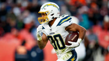 Running back Austin Ekeler #30 of the Los Angeles Chargers (Photo by Justin Edmonds/Getty Images)