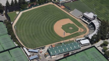USC baseball could host the Dodgers' alternate training site. (Tom Szczerbowski/Getty Images)